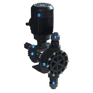 OBL M series penjual dosing pump