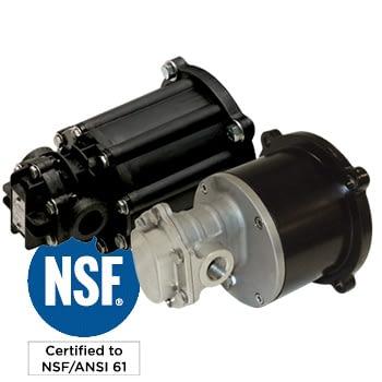 pulsafeeder gear-pump-certified dosing pump